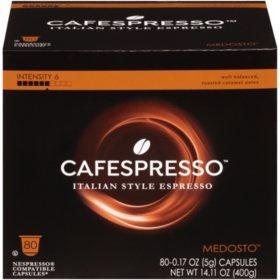 Cafespresso Medosto Nespresso Compatible Capsules (0.17 oz. ea., 80 ct.)