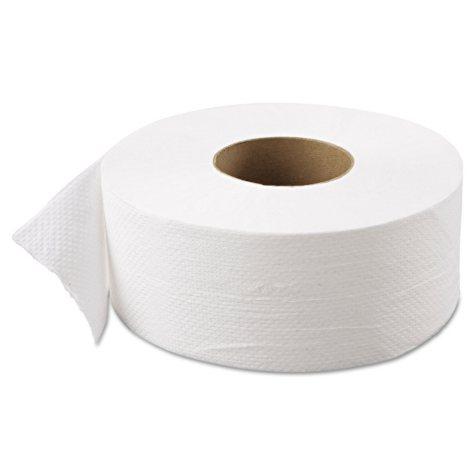 "Atlas Paper Mills - Green Heritage Jumbo Junior Roll Toilet Tissue, 2-Ply, 9""dia -  12/Carton"