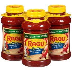 Ragu Chunky Garden Combination Pasta Sauce (45 oz., 3 pk.)