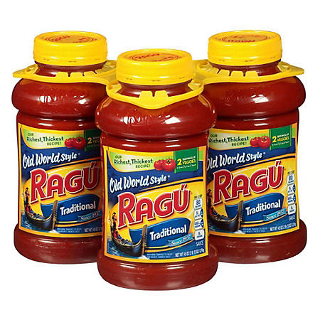 Ragu Old World Style Traditional Pasta Sauce (45 oz., 3 pk.)