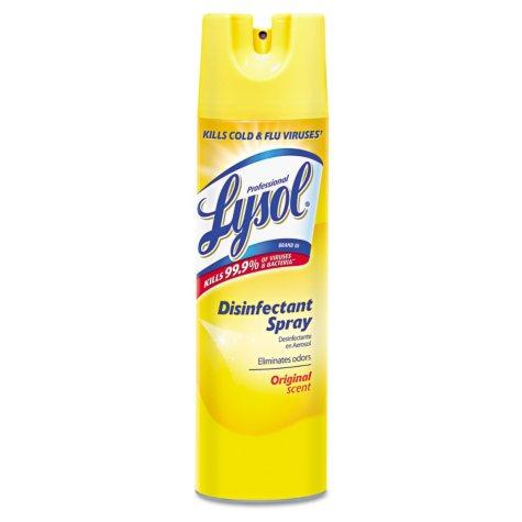 Professional Lysol Disinfectant Spray, Original Scent (19 oz., 12 cans)