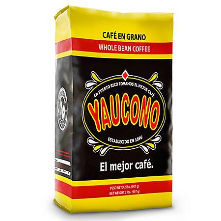 Yaucono Medium Roast Whole Bean Coffee (2 lbs.)