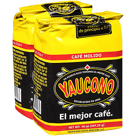 Yaucono Ground Coffee (14 oz.)