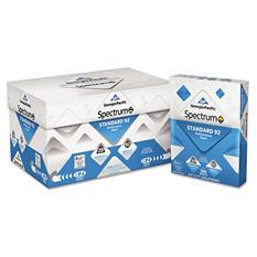 Georgia Pacific - Spectrum Standard 92 Multipurpose Paper, 20lb, 8-1/2 x 11, White -  5000 Shts/Ctn