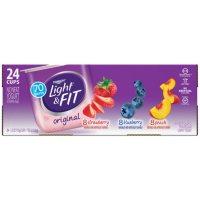 Dannon Light & Fit Variety Pack (24 pk., 5.3 oz. ea.)