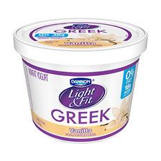 Dannon Light & Fit Greek Blended Nonfat Vanilla Yogurt (48 oz.)