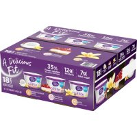 Dannon Light and Fit Greek Nonfat Yogurt Variety Pack (5.3 oz., 18 pk.)