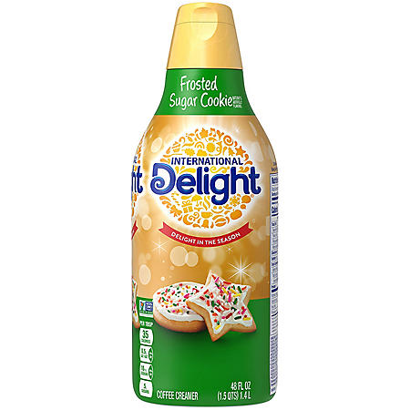International Delight Frosted Sugar Cookie Coffee Creamer (48 fl. oz.)