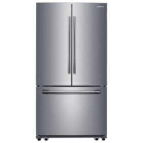 SAMSUNG 25.5 Cu.Ft. 3-Door French Door Refrigerator with Single Ice Maker - RF260BEAE - (CHOOSE: Color)