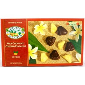 Milk Chocolate Covered Pineapple (8oz.)