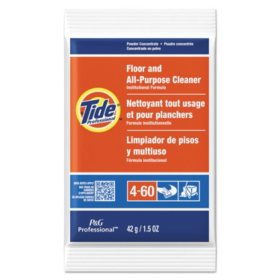 Tide Floor and All-Purpose Cleaner Powder Concentrate - 1.5 oz. packets - 100 ct.