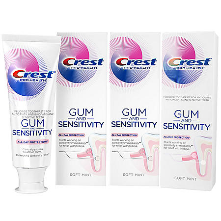Crest Pro-Health Gum and Sensitivity, Sensitive Toothpaste (4.1 oz., 3 pk.)