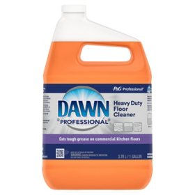 Dawn Professional Heavy Duty Floor Cleaner, 1 gal.