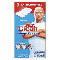 "Mr. Clean - Magic Eraser Extra Power, 4 3/5 x 2 2/5"", 7/10"" Thick, White -  30/Carton"