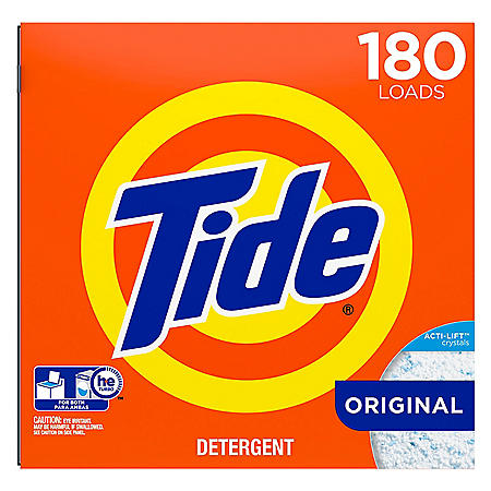 Tide HE Ultra Powder Laundry Detergent (254 oz., 180 loads)