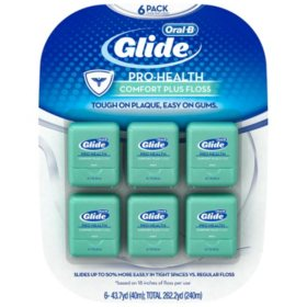 Oral-B Glide Pro-Health Comfort Plus Floss (6 pk.)
