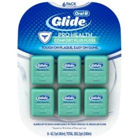 Oral-B Glide Pro-Health Comfort Plus Floss (6 pk.)