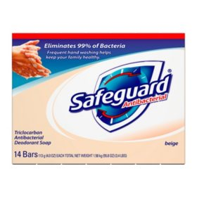 Safeguard Bath Bar, 4 oz. (14 pk.)