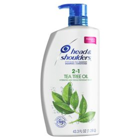 Head & Shoulders Dandruff Shampoo and Conditioner with Tea Tree Oil (43.3 fl., oz.)