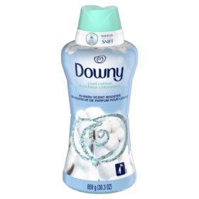 Downy In-Wash Scent Booster Beads, Cool Cotton, 30.3 oz