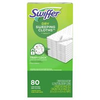Swiffer Sweeper Dry Sweeping Cloth, Multi-Surface Refills (80 ct.)
