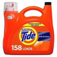 Tide Ultra Concentrated Liquid Laundry Detergent, Original (158 loads, 208 fl. oz.)