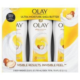 Olay Ultra Moisture Body Wash (23.6 fl. oz., 3 pk.)