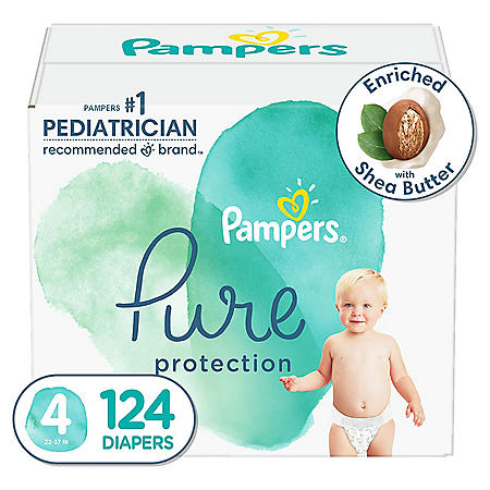 Pampers Pure Protection Diapers (Choose Your Size)
