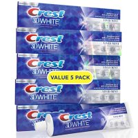 Crest 3D White Ultra Whitening Toothpaste, Vivid Mint (5.6 oz., 5 pk.)