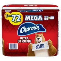 Charmin Ultra Strong Toilet Paper (265 sheets/roll, 18 Mega rolls)