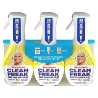 Mr. Clean, Clean Freak Deep Cleaning Mist Multi-Surface Spray, Febreze Lemon Zest (3 ct., 16 fl oz.)