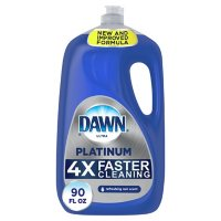 Deals on Dawn Platinum Dishwashing Liquid Dish Soap 90oz