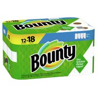 Bounty Select-A-Size Paper Towels, White (74 sheets/roll, 12 rolls)
