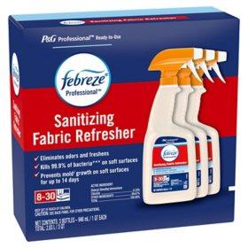 Febreze Antimicrobial Sanitizing and Odor-Eliminating Fabric Spray (32 fl. oz., 3 pk.)
