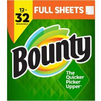 Bounty Full-Sheet Paper Towels, White (86 sheets/roll, 12 ct.)