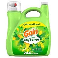 Gain Liquid Fabric Conditioner, Original Fabric Softener (244 loads, 165 fl. oz.)