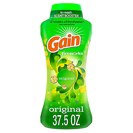 Gain Fireworks In-Wash Scent Booster Beads, Original (37.5 oz.)
