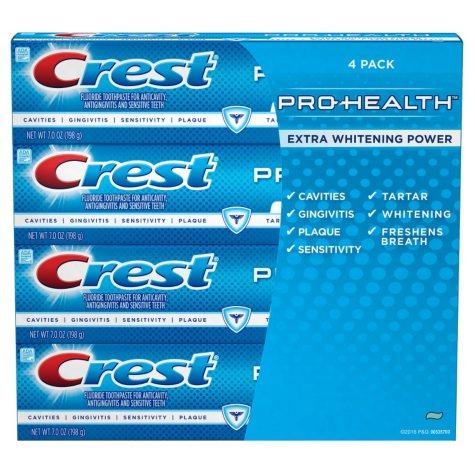 Crest Pro-Health Whitening Toothpaste (7 oz. each, 4 pk.)