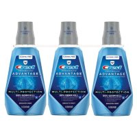 Crest Pro-Health Advantage Mouthwash, Alcohol Free, Multi-Protection, Smooth Mint (33.8 fl. oz., 3 pk.)