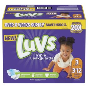 Luvs Ultra Leakguards Diapers (Choose Your Size)
