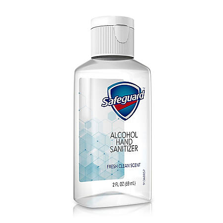Safeguard Alcohol Hand Sanitizer, Fresh Clean Scent (2 oz., 48 ct.)