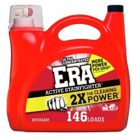 Era Active Stainfighter Ultra Concentrated Liquid Laundry Detergent (200 oz., 146 loads)