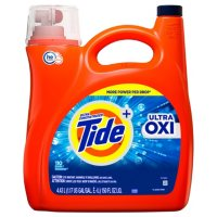 Tide Ultra Oxi HE Liquid Laundry Detergent (110 Loads, 150 oz?.)