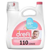 Dreft Ultra Concentrated Liquid Laundry Detergent (110 loads, 150 fl. oz.)