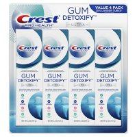 Crest Gum Detoxify Deep Clean Toothpaste (5.2 oz, 4 pk.)