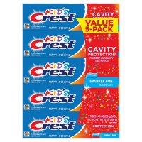 Crest Kids' Toothpaste, Sparkle Fun (4.6 oz., 5 pk.)
