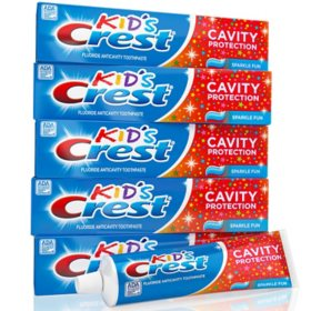 Crest Kids' Toothpaste, Sparkle Fun (4.6 oz., 5 pk.)