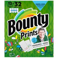Bounty Select-A-Size Paper Towels, Print (131 sheets/roll, 12 ct.)