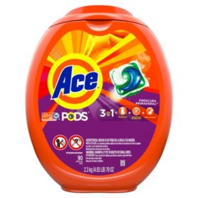 Ace PODS Liquid Detergent Pacs (90 ct.)
