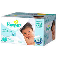 Pampers Swaddlers Sensitive Diapers (Choose Your Size)